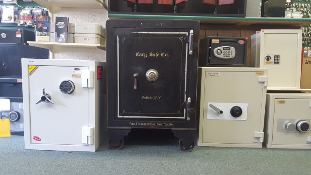 safes of various sizes